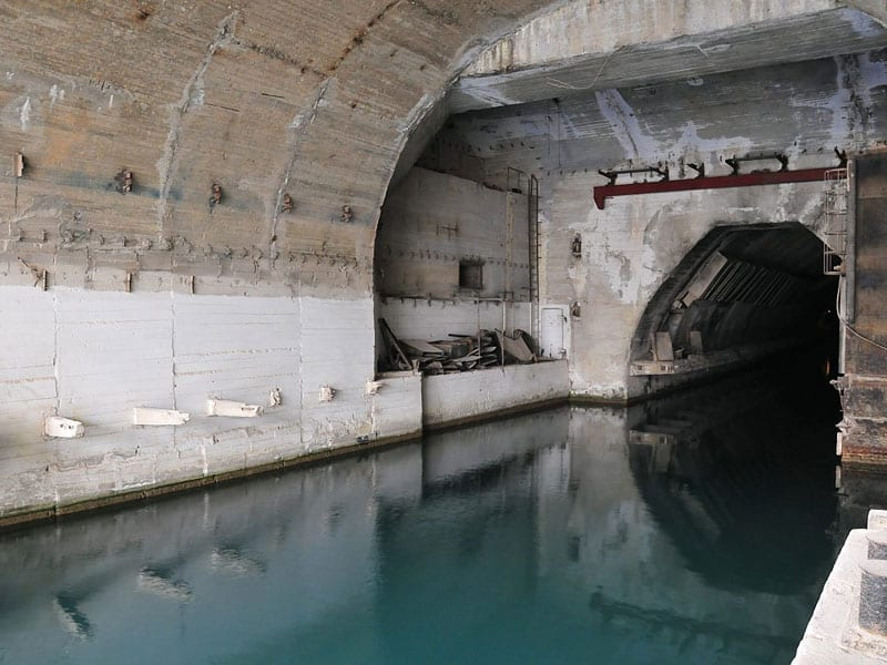 A rare look inside these abandoned military bases and